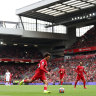 Liverpool and Brighton share top, Grealish nets first goal for City