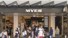 Myer's flagship Bourke Street store