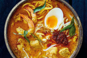 Adam Liaw on how to make a classic curry laksa from scratch
