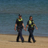 I thought I was safe to walk the beach with my daughter, then the police came