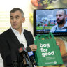Woolies plastic bags not strong enough to hold Banducci's $7.75m pay packet
