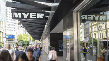 Myer closes all stores for four weeks