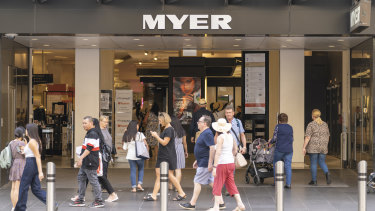 Myer has posted a $172 million loss for the last financial year.