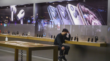 Apple said it would temporarily close its 42 stores in China. Many businesses are asking staff to work from home.