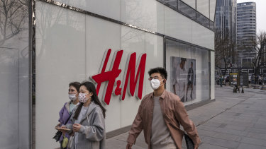 Chinese consumers have been told to boycott clothing brands H&M and other Western products.