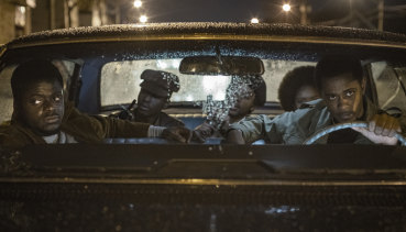 Daniel Kaluuya (left) and Lakeith Stanfield (driving) in Judas and the Black Messiah.