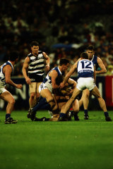 North defeated Geelong in the Qualifying Final.