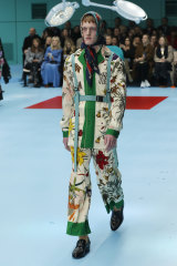 Gucci has been showing men's and women's clothing together for several seasons.