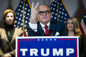 Trump has even turned on Rudy Giuliani, his personal attorney.