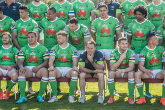 Canberra coach Ricky Stuart ... Despite being a favourite son, some of the Raiders faithful didn't want him as coach.