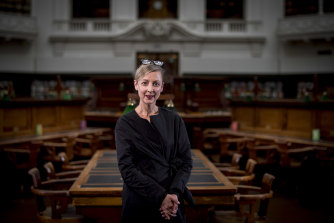 State Library of Victoria chief executive Kate Torney read avidly during lockdown.