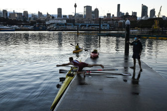 Sports clubs have expressed concern about the redevelopment plans, which they say will lead to more on-water traffic and render Blackwattle Bay less safe for watersports.