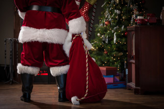 Reckon you've seen Santa? This might be why.