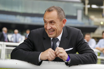 Chris Waller is enjoying life after Winx.