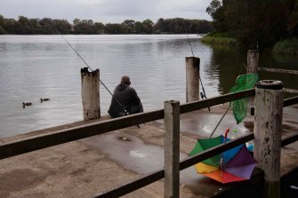 Fishing is a popular pastime, along with barefoot skiing and other recreational activities, on the Georges River as it flows from Moorebank to Chipping Norton and beyond.