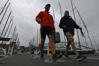 Cruising Yacht Club of Australia commodore Noel Cornish said the primary reason for the race being called off was concern for the safety of competitors and staff.