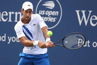 World No.1 Novak Djokovic will fancy his chances of winning a fourth US Open crown in the absence of Roger Federer and Rafael Nadal.