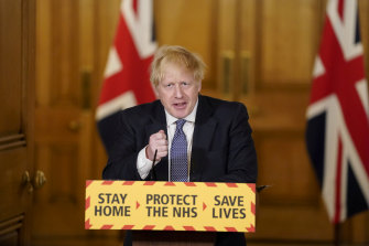 Boris Johnson holds his first news conference since returning to work after recovering from COVID-19.