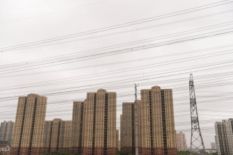 China needs 550 million homes for its citizens, according to Cameron Robertson.