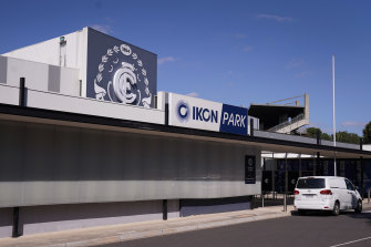 Carlton's home ground was closed for business on Thursday.