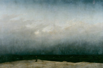Monk by the Sea (1808-10) by Caspar David Friedrich.