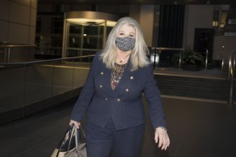 Crown chairman Helen Coonan, left without a suitor
