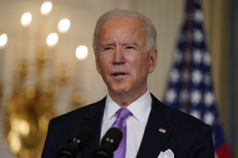 President Biden has proposed a $US1.9 trillion rescue package.