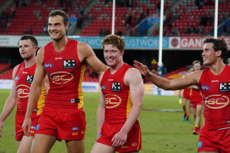 The AFL has yet to schedule this year's QClash but many feel a Friday night match in round eight makes obvious sense with both clubs riding high, the Suns in second spot just ahead of the Lions.