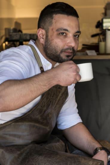 Tony Sleiman from Bruce Tea & Coffee in Glebe.