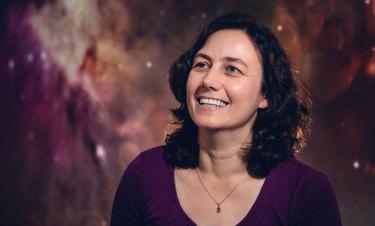Astronomer Tanya Hill.