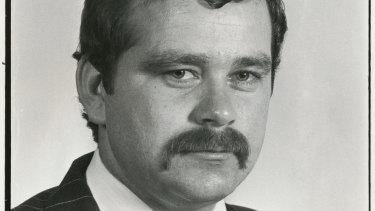 Lindsay Murdoch staff pic, 1977.
