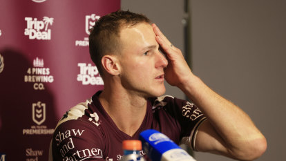 After being thrashed by Turbo-charged Blues, DCE shows Manly can win without him