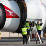 Six Qantas baggage handlers have tested positive for COVID-19 in Adelaide.