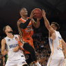Cairns Taipans beat Brisbane Bullets in 'Sunshine Stoush'