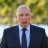 Dutton medevac stance threatens crossbench 'cordial relationship'