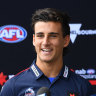 Nick Daicos grew up a Blue, but will support the Pies this Thursday