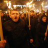 Ukraine's ultra-right increasingly visible as election nears
