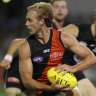 Parish out: Bombers make selection shock