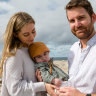 'They've given us everything': Adam's running for the group which saved his baby