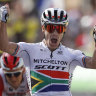 Impey claims his first Tour de France stage win in sprint finish