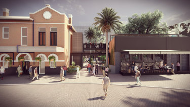 The proposal could see the Leederville Hotel become an entertainment hub.