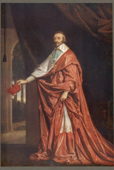 Academy founder Cardinal Richelieu.