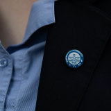 Year 12 students at Scholastica's College in Glebe have received a COVID badge for doing their HSC in the middle of the pandemic.