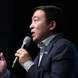 Former Democratic presidential candidate and entrepreneur Andrew Yang.