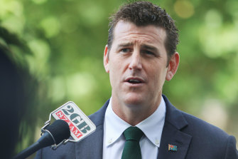 Former soldier Ben Roberts-Smith has denied any involvement in the intimidation plot.