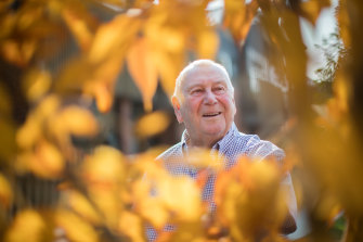 Graeme Medew, 75, says many of his friends around the same age are keen to have the vaccine and get back to their usual activities.