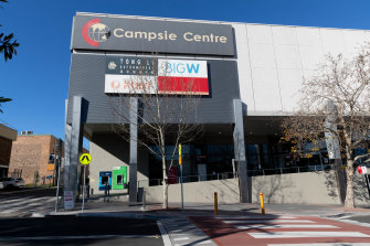 Health authorities have concluded multiple people had caught the virus in the Campsie Centre shopping mall.