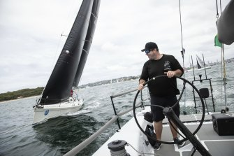 Sebastian Bohm, owner of 52-foot yacht Smuggler, would have sailed in his eighth Sydney to Hobart this year.