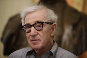 Director Woody Allen, pictured in July, has come to terms with Amazon after the online giant ended his contract without ever releasing a completed film.