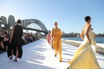 Sydney Harbour served as the backdrop for Bondi Born.